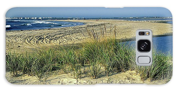 New Jersey Inlet  Galaxy Case by Sally Weigand