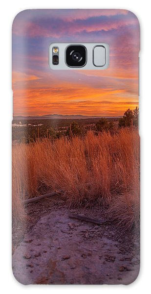 New Mexican Sunset Galaxy Case