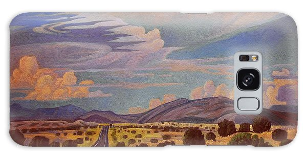 New Mexico Cloud Patterns Galaxy Case