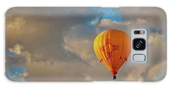 New Mexico Zia Sun Hot Air Balloon Galaxy Case