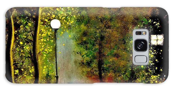 New Moon... Galaxy Case by Cristina Mihailescu