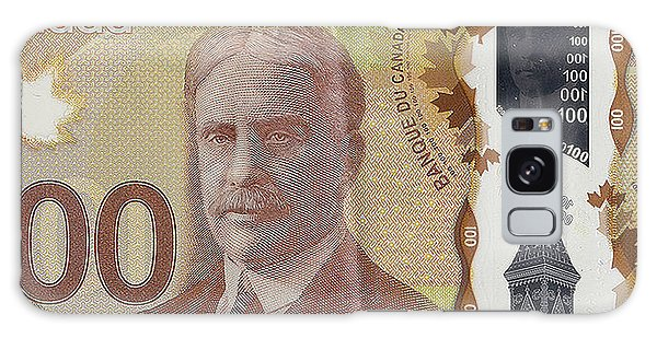 Hundred Galaxy Case - New One Hundred Canadian Dollar Bill by Serge Averbukh