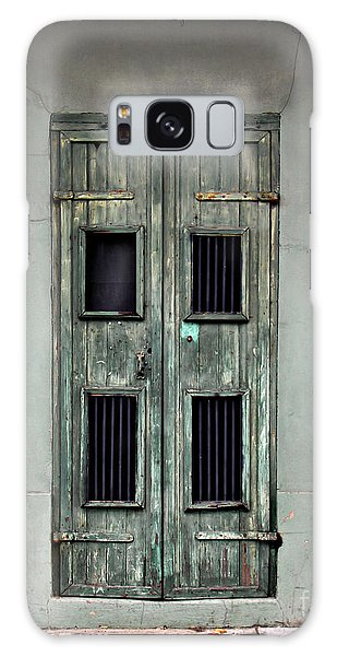 New Orleans Green Doors Galaxy Case