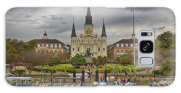 New Orleans Jackson Square Galaxy Case