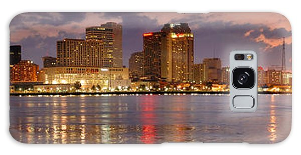 New Galaxy Case - New Orleans Skyline At Dusk by Jon Holiday