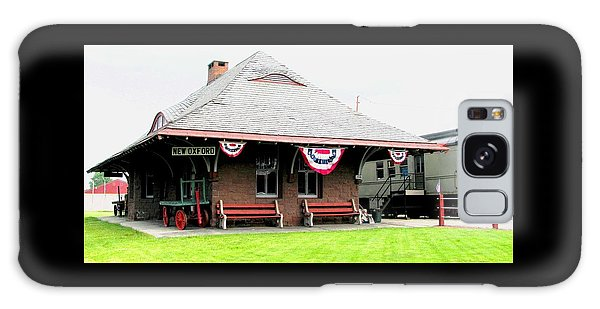 New Oxford Pennsylvania Train Station Galaxy Case