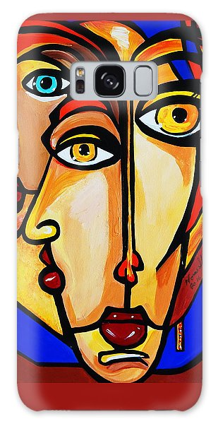 New Picasso By Nora Friends Galaxy Case