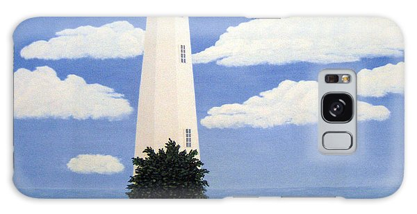 New Point Comfort Lighthouse 22x30 Galaxy Case