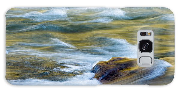 New River Abstract New River Gorge Galaxy Case