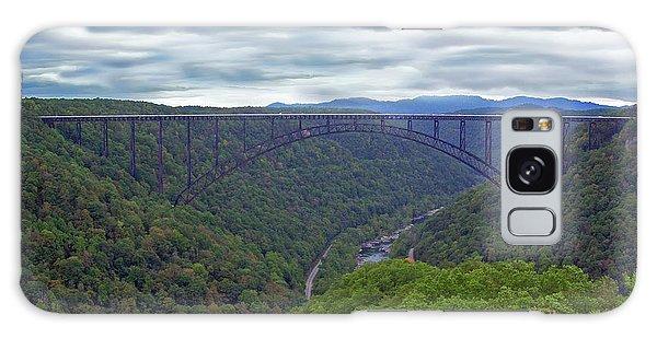 New River Bridge Galaxy Case
