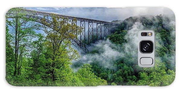 New River Gorge Bridge Morning  Galaxy Case