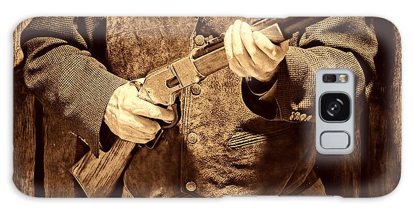 New Sheriff In Town Galaxy Case by American West Legend By Olivier Le Queinec