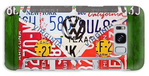 Vw Bus Galaxy Case - New #vw License Plate Art Series Out On by Design Turnpike