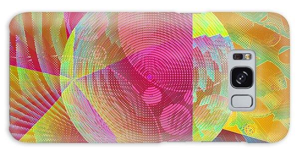 Galaxy Case featuring the digital art New Worlds Exploration by Joy McKenzie