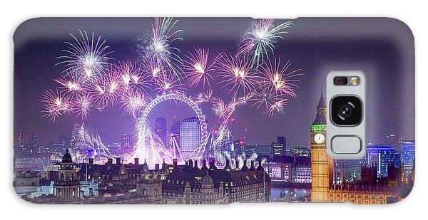 New Year Fireworks London Galaxy Case
