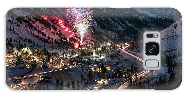 New Year's Eve At Snowbird Galaxy Case