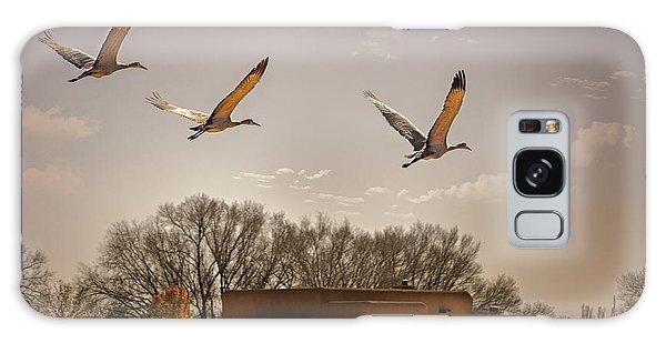 Flight Of The Cranes Galaxy Case