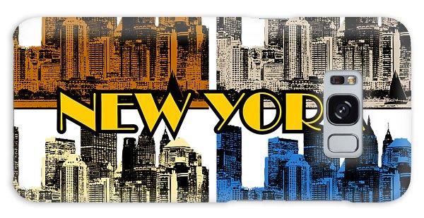 New York 4 Color Galaxy Case