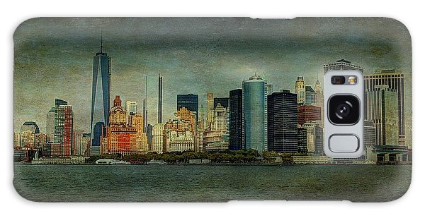New York After Storm Galaxy Case by Dan Haraga
