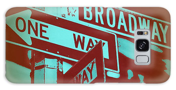 Broadway Galaxy Case - New York Broadway Sign by Naxart Studio