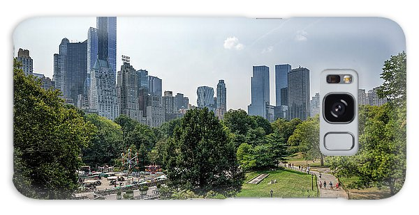 New York Central Park With Skyline Galaxy Case