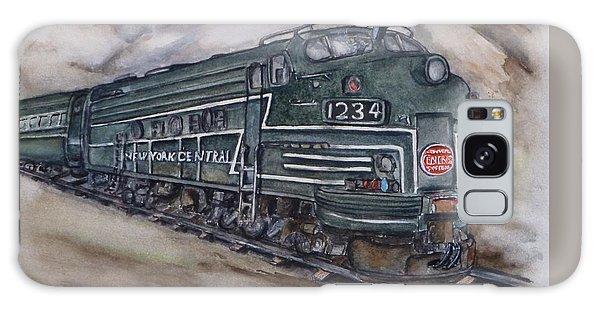 New York Central Train Galaxy Case