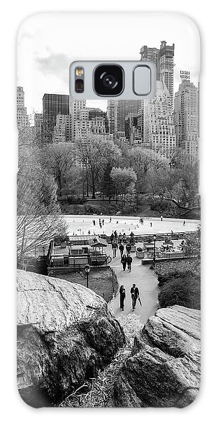New York City Central Park Ice Skating Galaxy Case