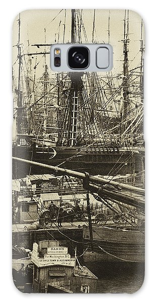 New York City Docks - 1800s Galaxy Case