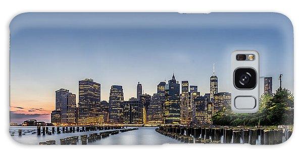 New York City Dusk Galaxy Case