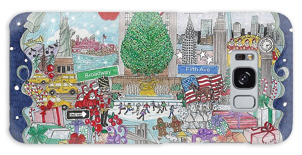 New York City Holiday Galaxy Case