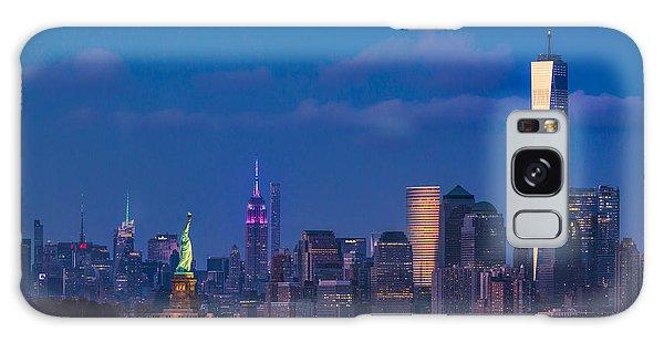 New York City Icons Galaxy Case by Susan Candelario