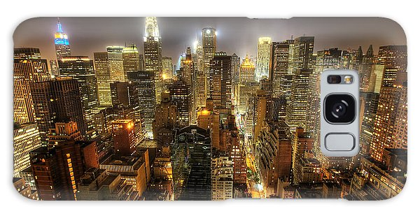 New York City Night Galaxy Case