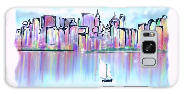 New York City Scape Galaxy Case