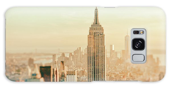 Sunset Galaxy Case - New York City - Skyline Dream by Vivienne Gucwa