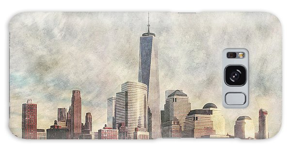 New York City Skyline Including The World Trade Centre Galaxy Case