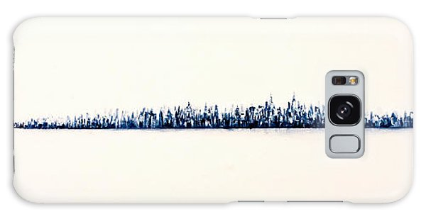 New York City Skyline Galaxy Case