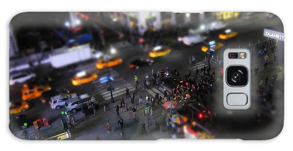 Broadway Galaxy Case - New York City Street Miniature by Nicklas Gustafsson