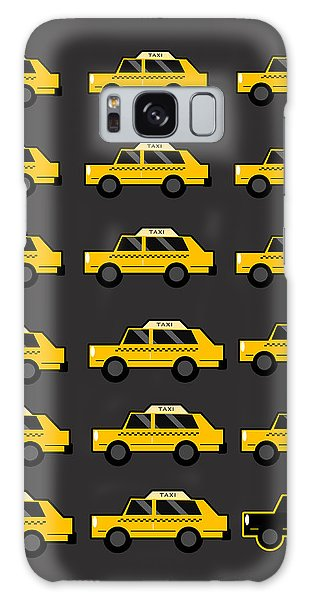 New York City Taxi Galaxy Case - New York City Taxi by Art Spectrum
