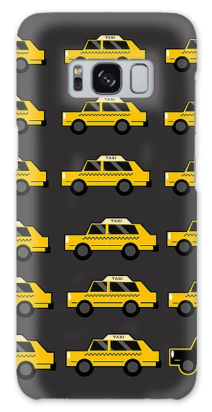 New Galaxy Case - New York City Taxi by Art Spectrum