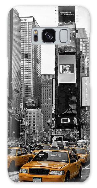 Motion Galaxy Case - New York City Times Square  by Melanie Viola