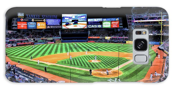 Galaxy Case featuring the painting New York City Yankee Stadium by Christopher Arndt