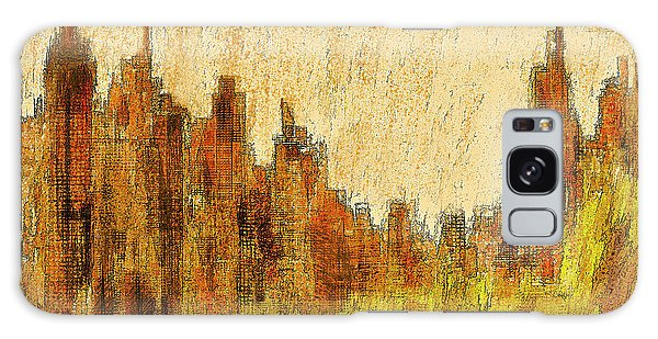 New York City In The Fall Galaxy Case