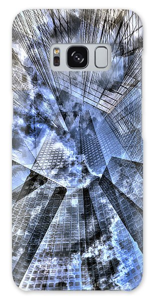 New York Iris Collage Galaxy Case