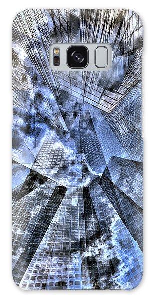 New York Iris Collage Galaxy Case by Dave Beckerman