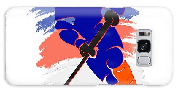 Islanders Galaxy Case - New York Islanders Player Shirt by Joe Hamilton