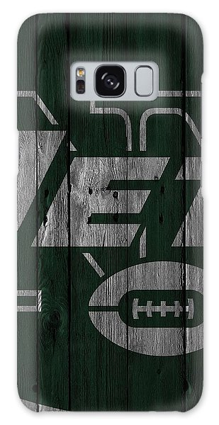 New York Jets Wood Fence Galaxy Case