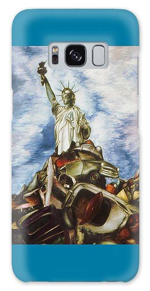 New York Liberty 77 - Fantasy Art Painting Galaxy Case