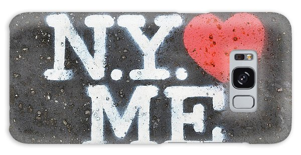 New York Loves Me Stencil Galaxy Case
