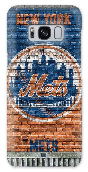 New York Mets Brick Wall Galaxy Case