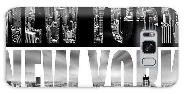 Downtown Galaxy Case - New York New York by Az Jackson